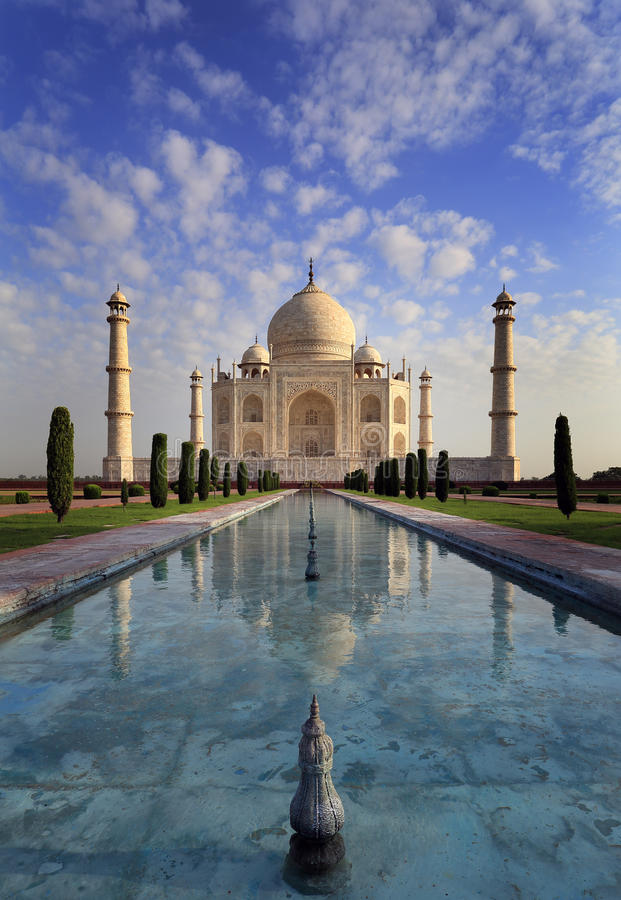 Taj Mahal Agra India Royalty Free Stock Images Image