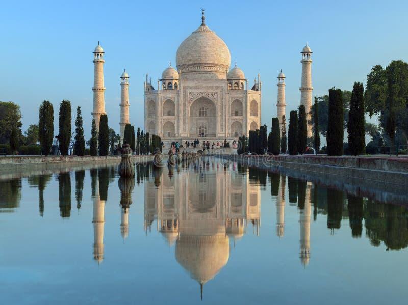 Taj Mahal - Agra - India royalty free stock photo