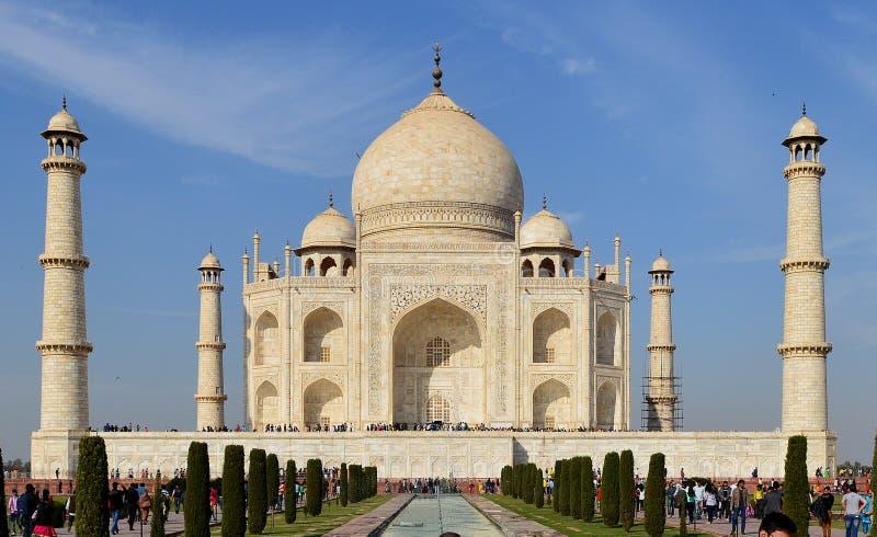 Taj Mahal Agra, India, Wonders of the world royalty free stock photos