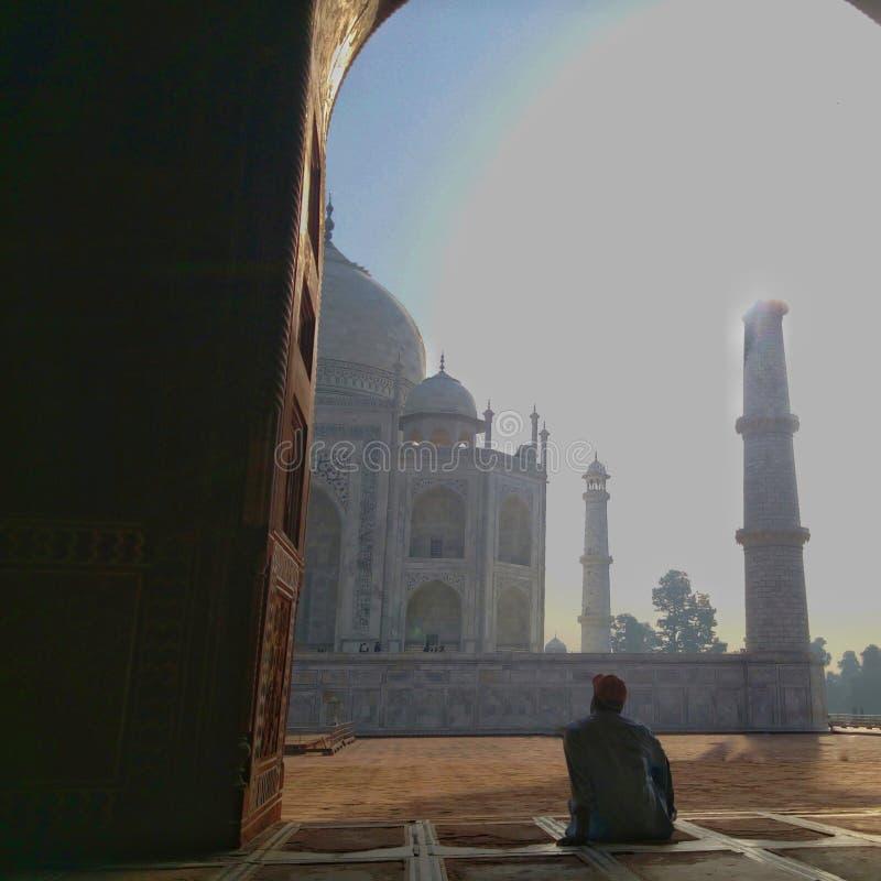Taj Mahal, Agra, Indien lizenzfreie stockfotografie
