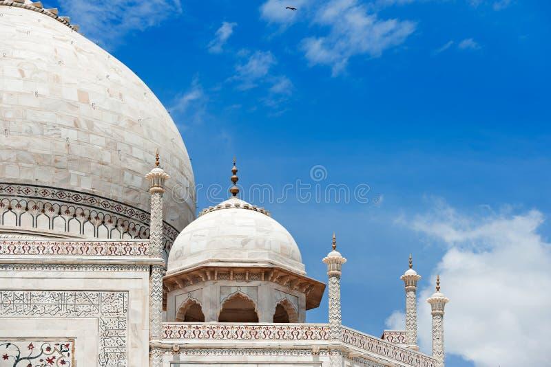 Taj Mahal Agra, Indien stockfotos