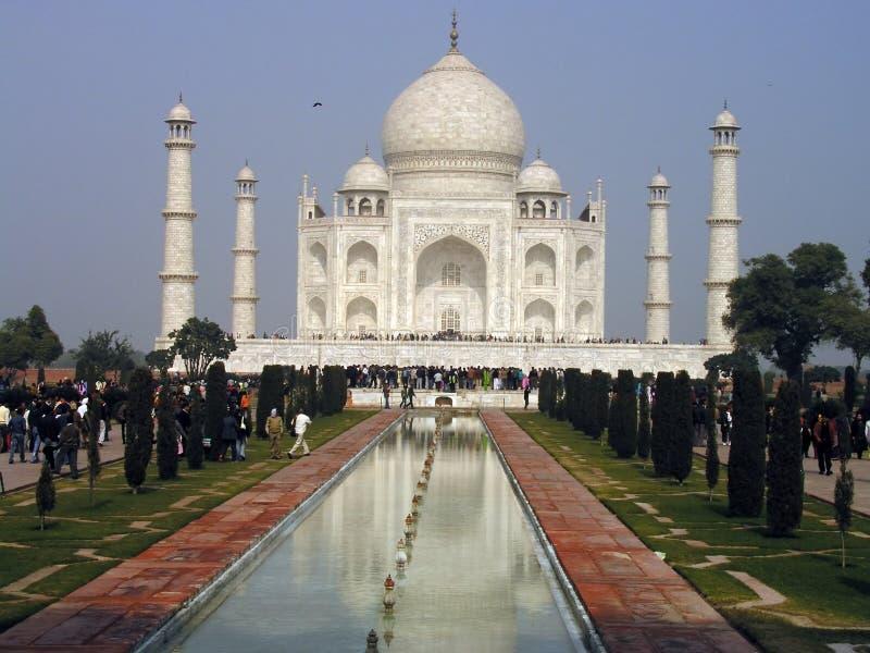 Taj Mahal, Agra, Indien lizenzfreie stockbilder