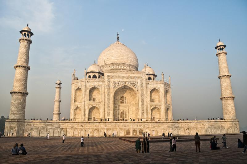 Taj Mahal, Agra, Indien lizenzfreies stockfoto