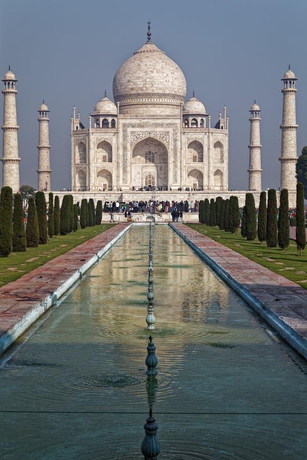 Taj Mahal, Agra, Indien stockfoto