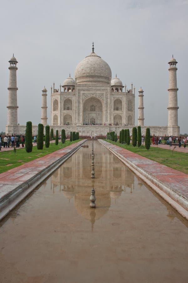 Taj Mahal, Agra (Indien) pic02 arkivfoton