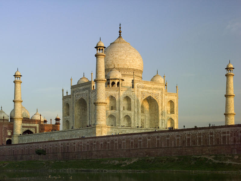 Taj Mahal - Agra - l'India immagine stock libera da diritti
