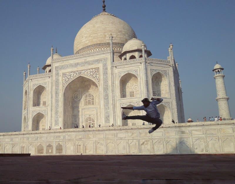 Taj Mahal, Agra, la India imagenes de archivo