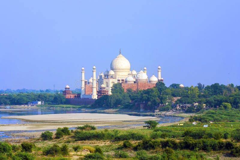Download Taj Mahal in Agra stock image. Image of mahal, landmark - 39509177