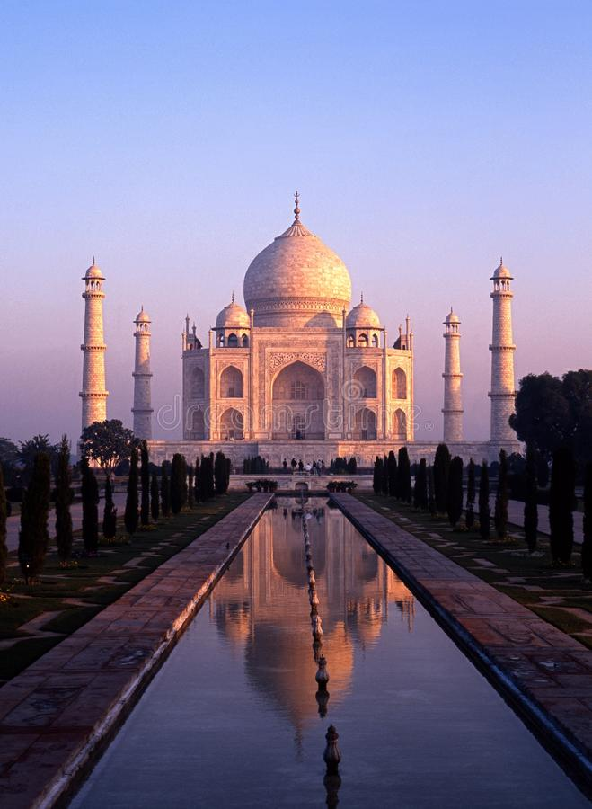Taj Mahal, Agra, Uttar Pradesh, Indien. stockfoto