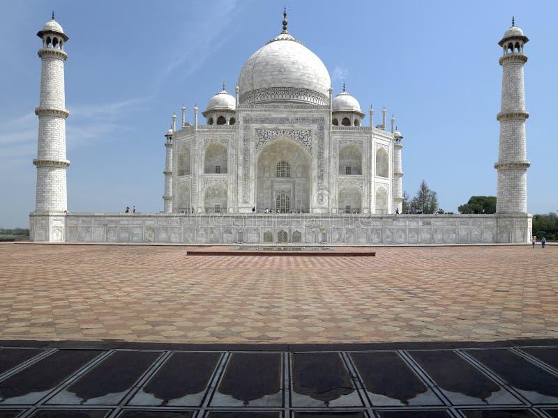 Taj Mahal - Agra - Uttar Pradesh - l'India fotografia stock