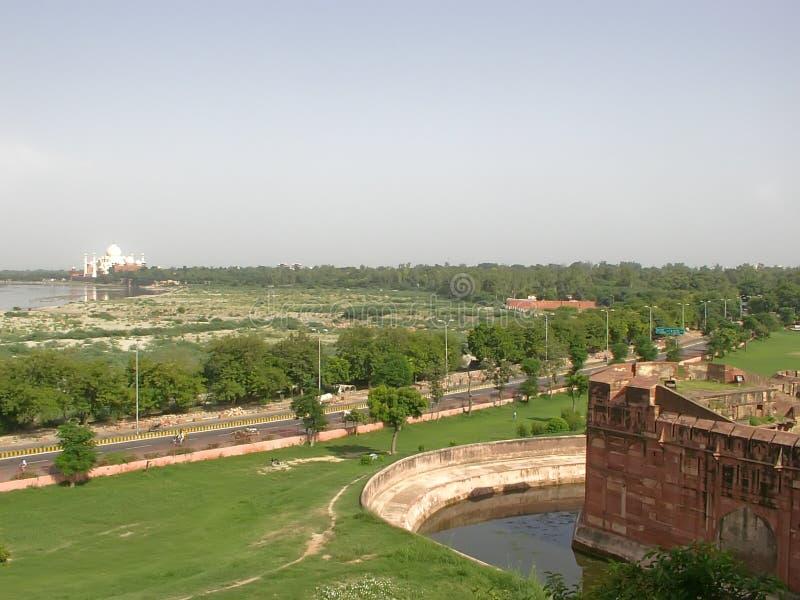 Download Taj Mahal And The Area Around It Stock Image - Image of love, mausoleum: 6422469