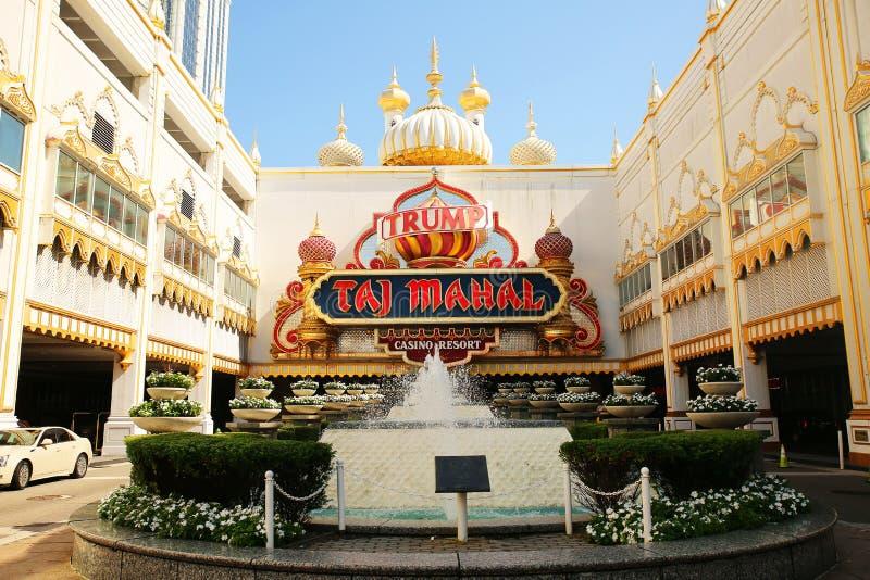 Taj Mahal Casino Resort fotos de archivo libres de regalías