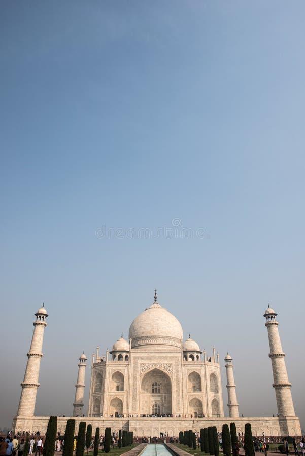 Taj Mahal From Distance image stock