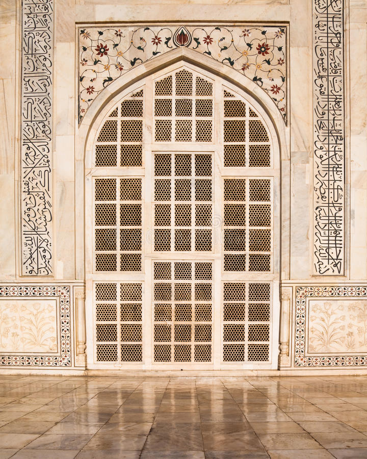 Download Taj Mahal Door stock photo. Image of india, heritage - 20852322