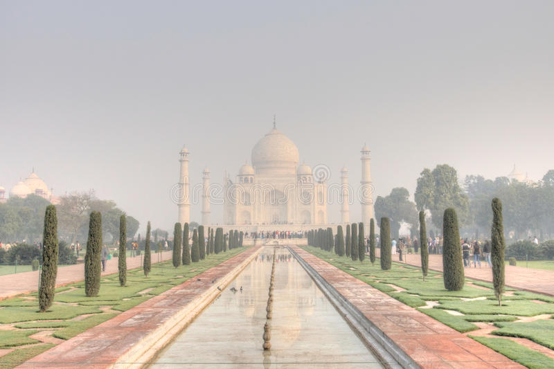 Taj Mahal in the Early Morning stock image