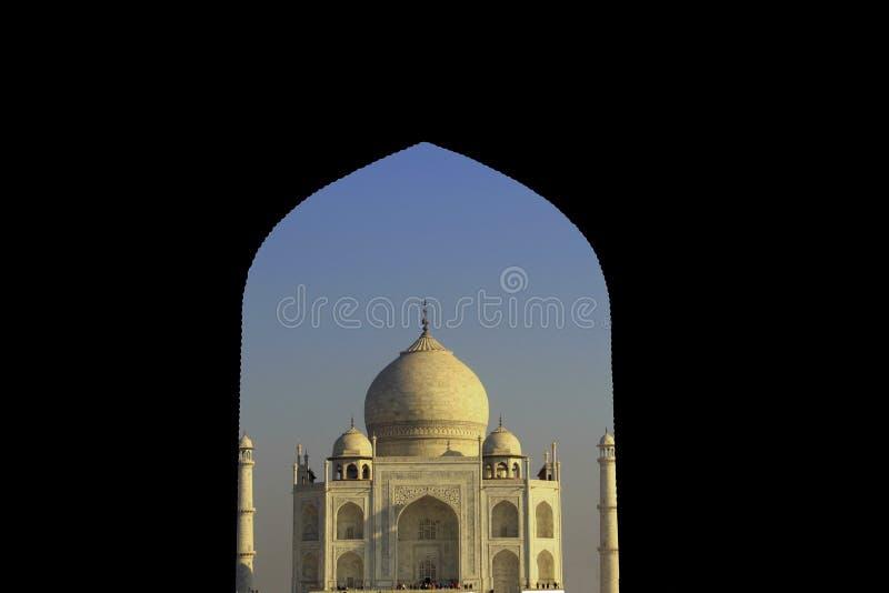 Taj Mahal Eingang stockfotografie