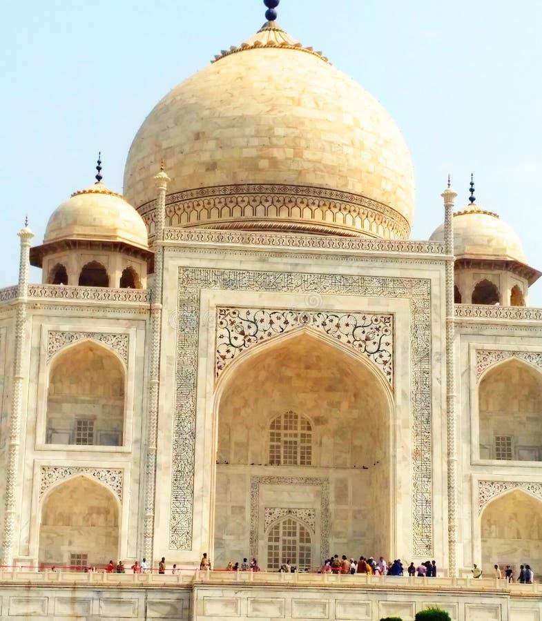 Taj Mahal em Agra foto de stock royalty free