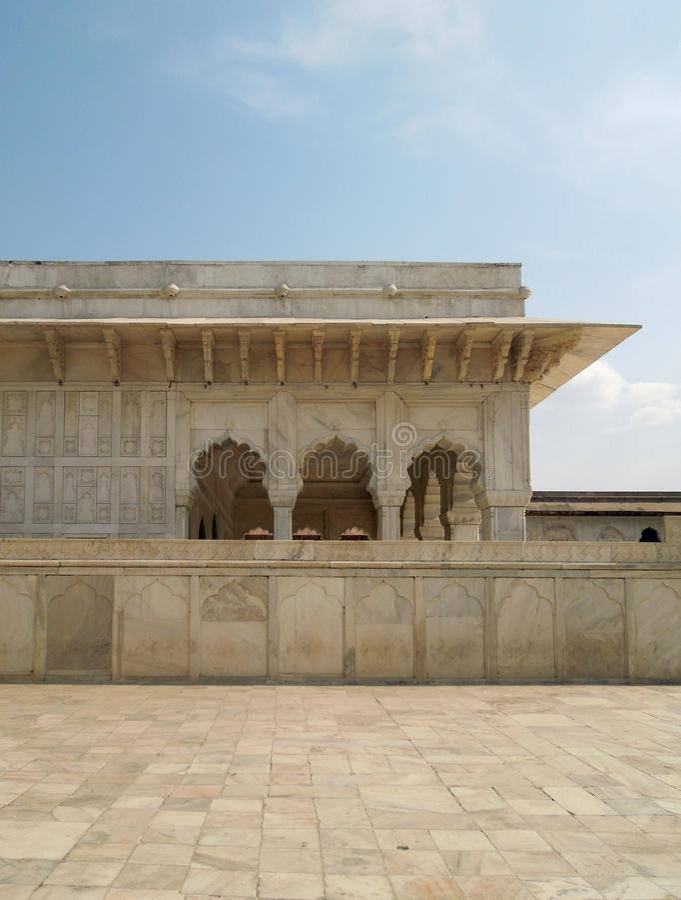 Taj Mahal em Agra fotografia de stock