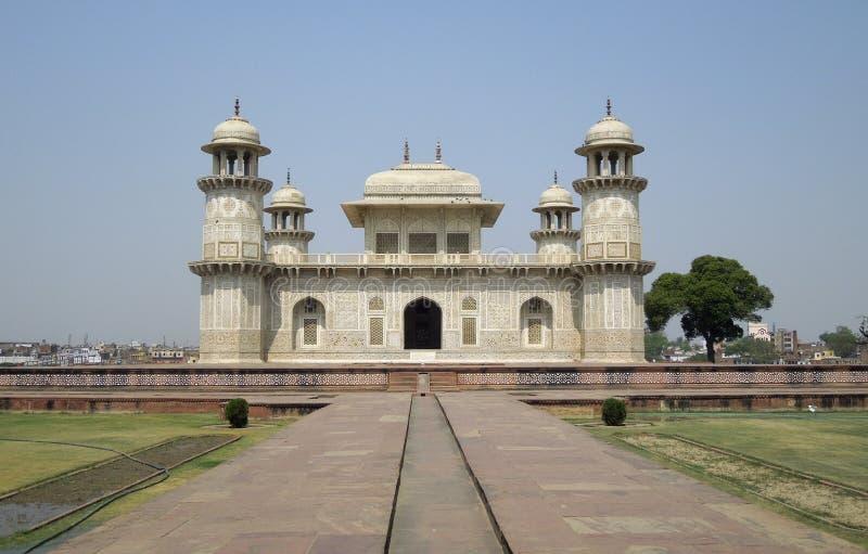 Taj Mahal em Agra imagens de stock royalty free