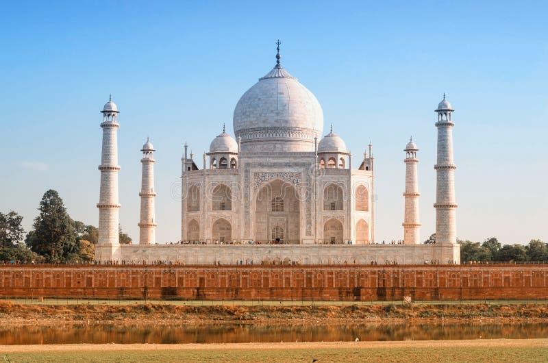Taj Mahal em Agra, India imagem de stock