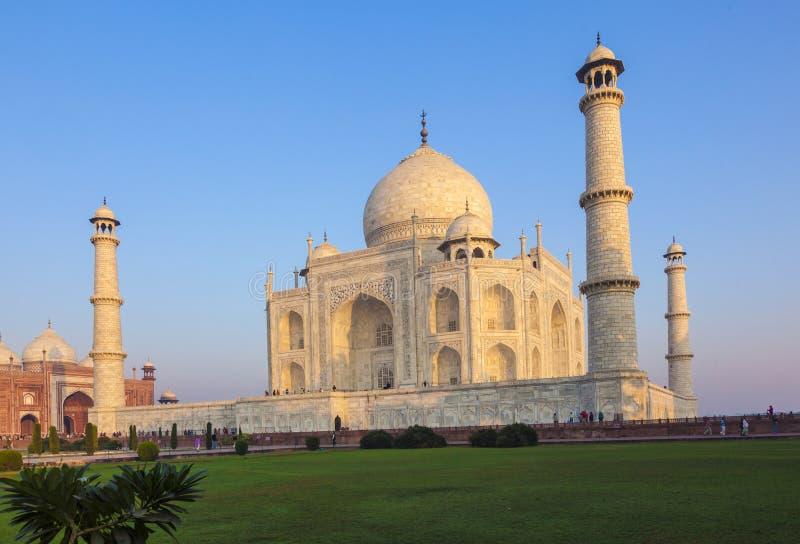 Taj Mahal em India foto de stock