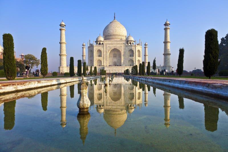 Taj Mahal em India imagens de stock royalty free