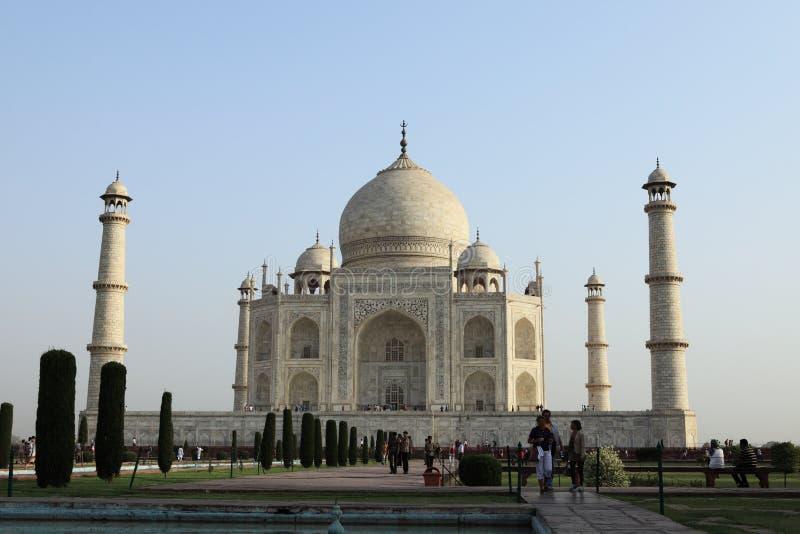 Download Taj Mahal en Agra la India fotografía editorial. Imagen de señal - 42444742