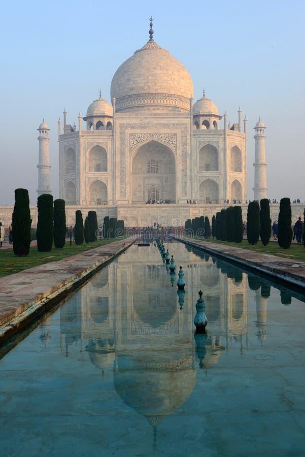 Taj Mahal en Agra, la India fotografía de archivo libre de regalías
