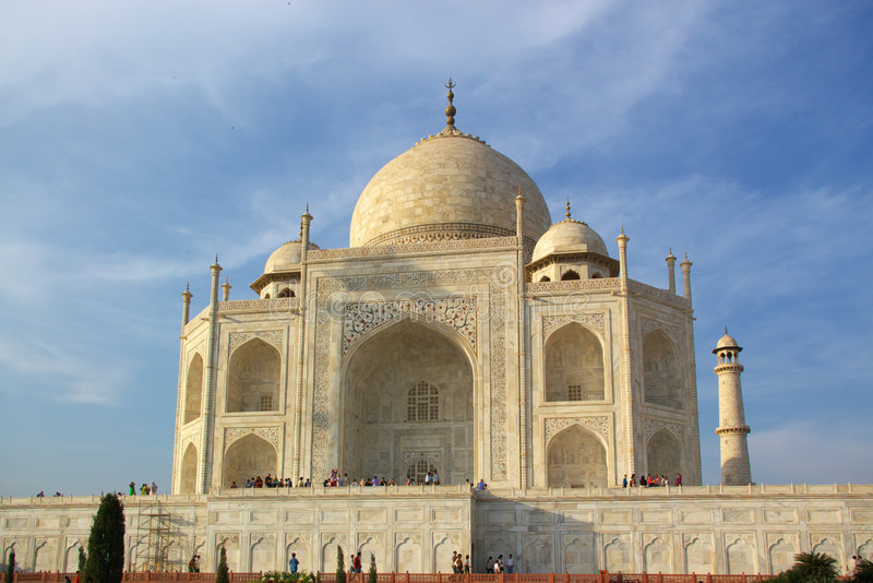 Download Taj Mahal In Evening Light Royalty Free Stock Image - Image: 2423906