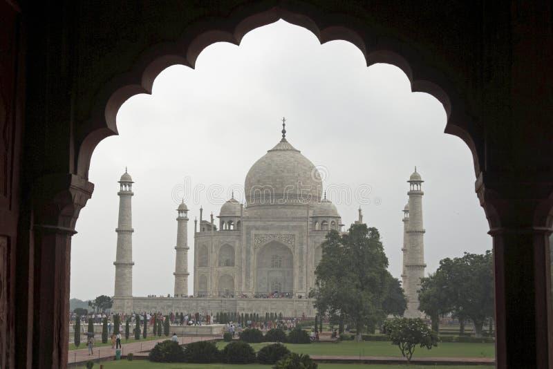 Download Taj Mahal Framed In Mughal Arch Stock Photo - Image: 6010552