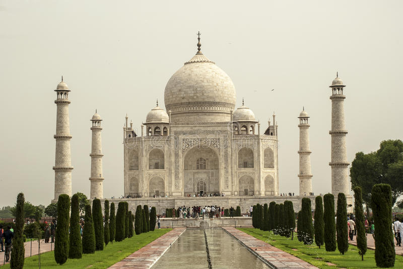 Download Taj Mahal stock photo. Image of monument, temple, marble - 30385398