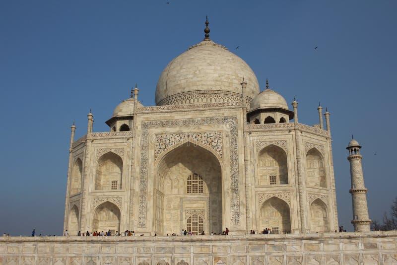 Taj Mahal (Hoofdgebouw) stock afbeeldingen
