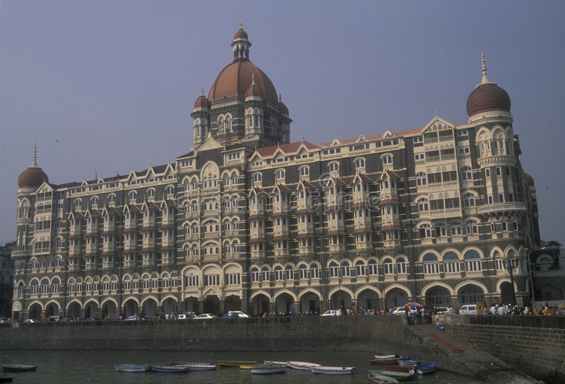 Taj Mahal Hotel royalty free stock image