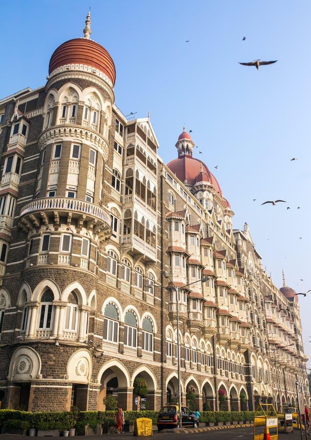Taj Mahal Hotel in Mumbai, India. stock photo