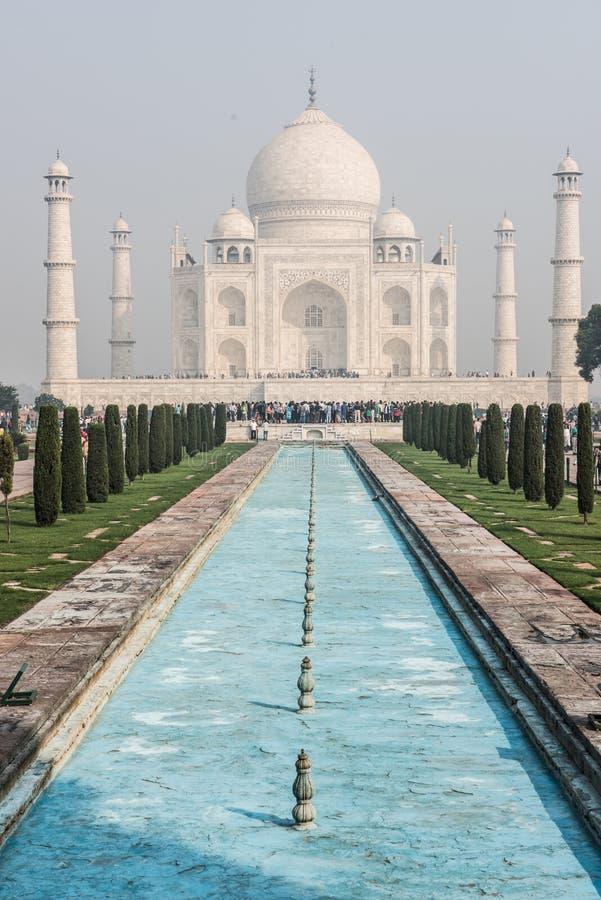 Taj Mahal impeccable photographie stock libre de droits