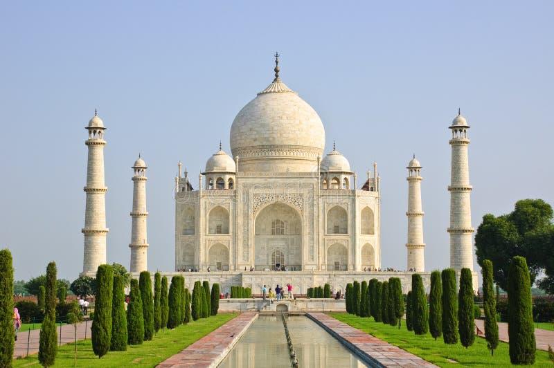 Taj Mahal, India fotografie stock libere da diritti