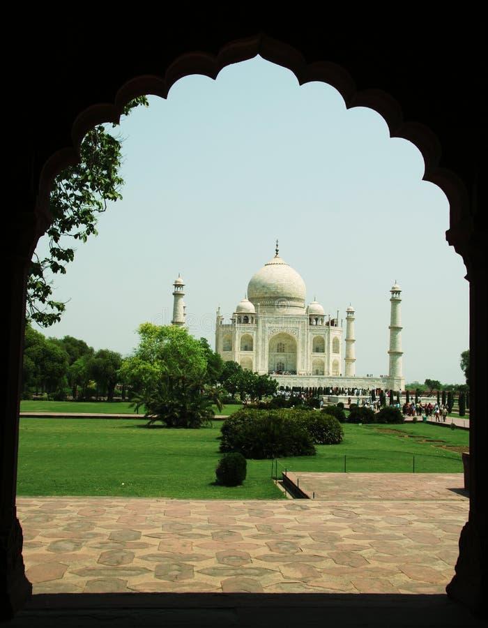 Taj Mahal in India royalty-vrije stock afbeelding