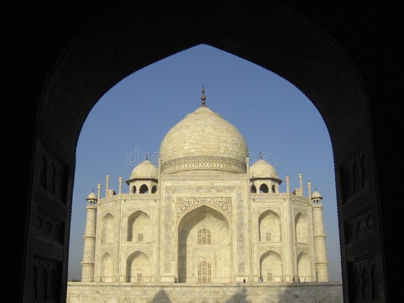 Taj Mahal India royalty-vrije stock foto