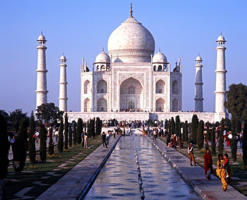 Taj Mahal, India foto de stock