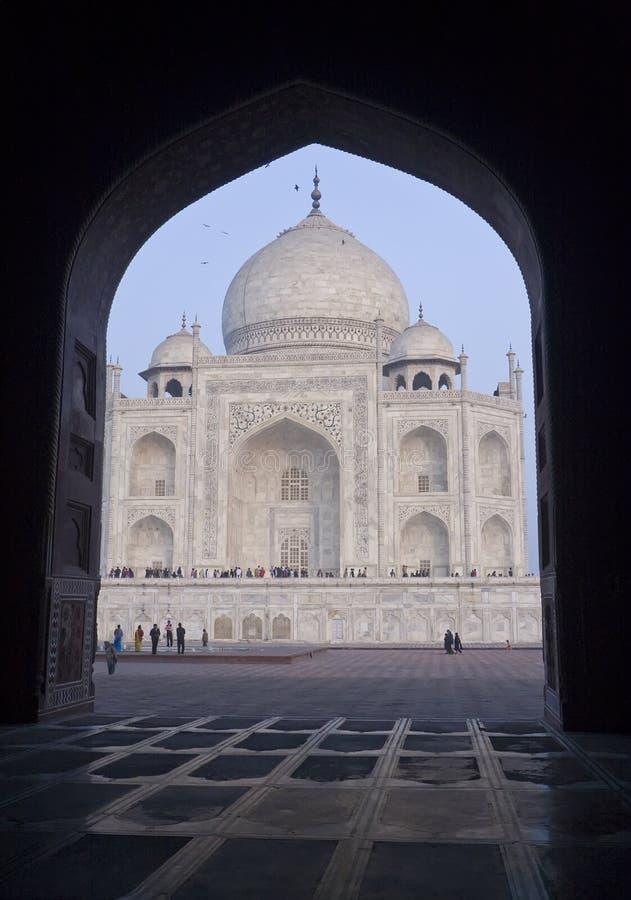 Taj Mahal, India stock image