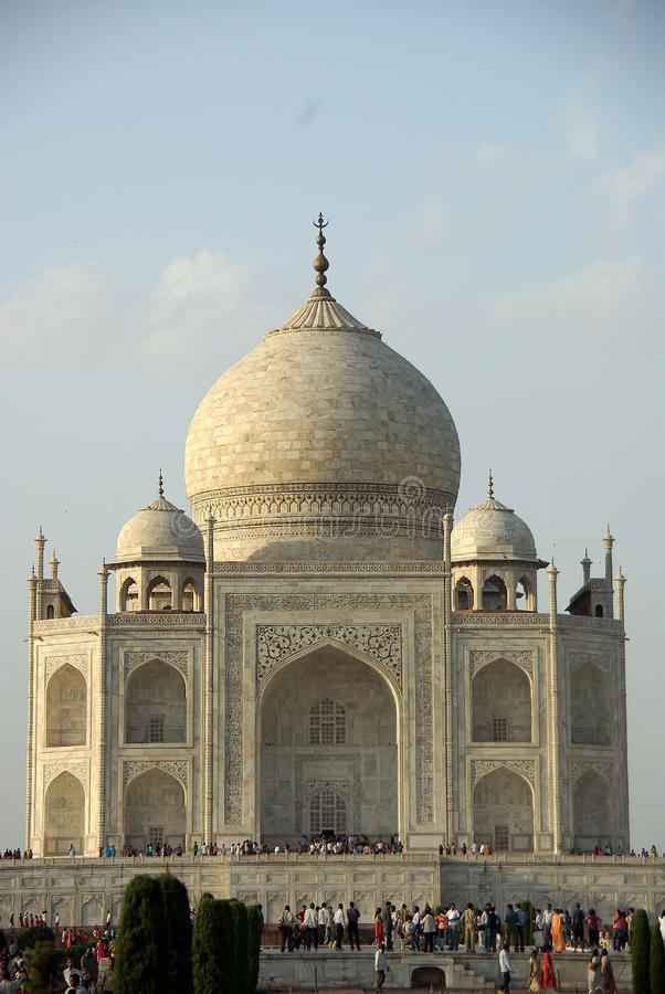 The Taj Mahal, India royalty free stock photography