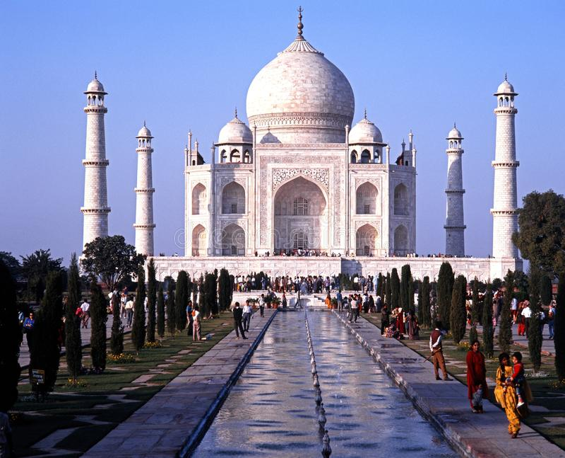 Taj Mahal In Evening Light Stock Photo Image Of Miracle