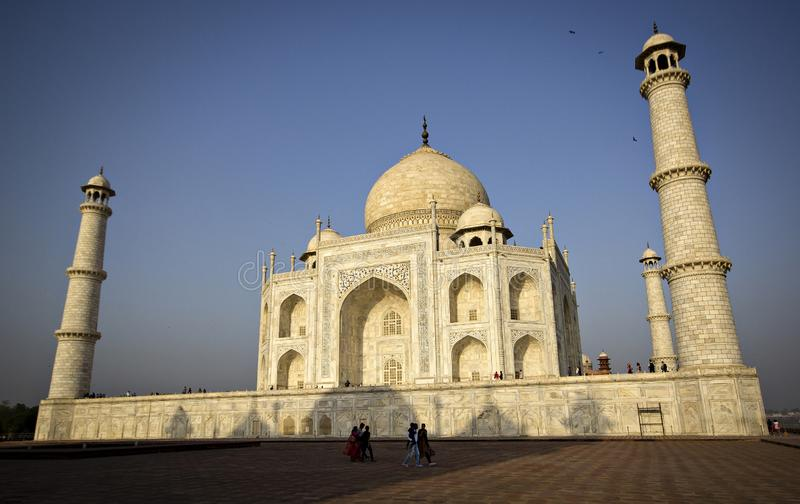 Taj Mahal, Indien stockfotos