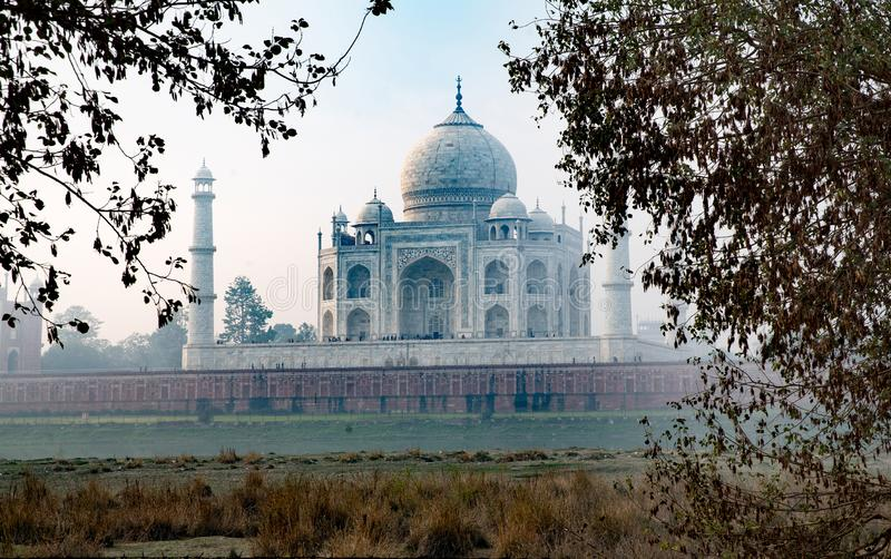 Taj Mahal, Indien lizenzfreie stockfotos