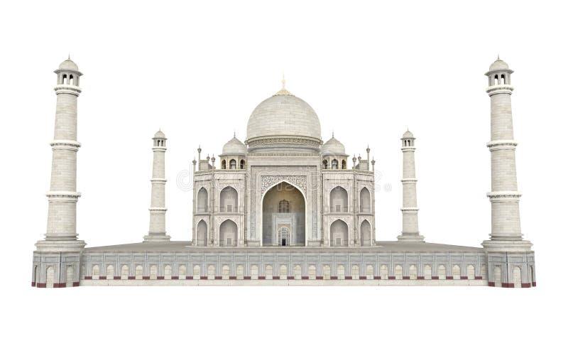 Taj Mahal Isolated royalty-vrije illustratie