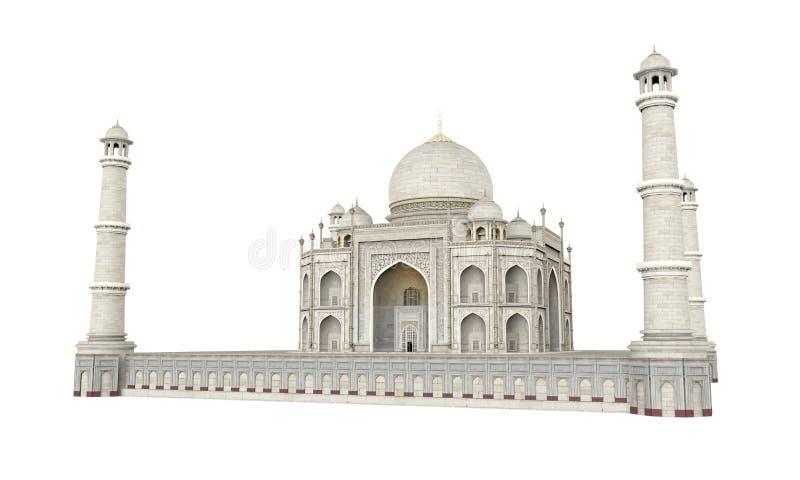 Taj Mahal Isolated vektor abbildung