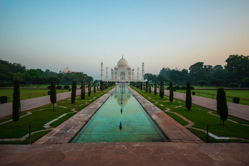 Taj Mahal-Komplex Agra lizenzfreie stockfotografie