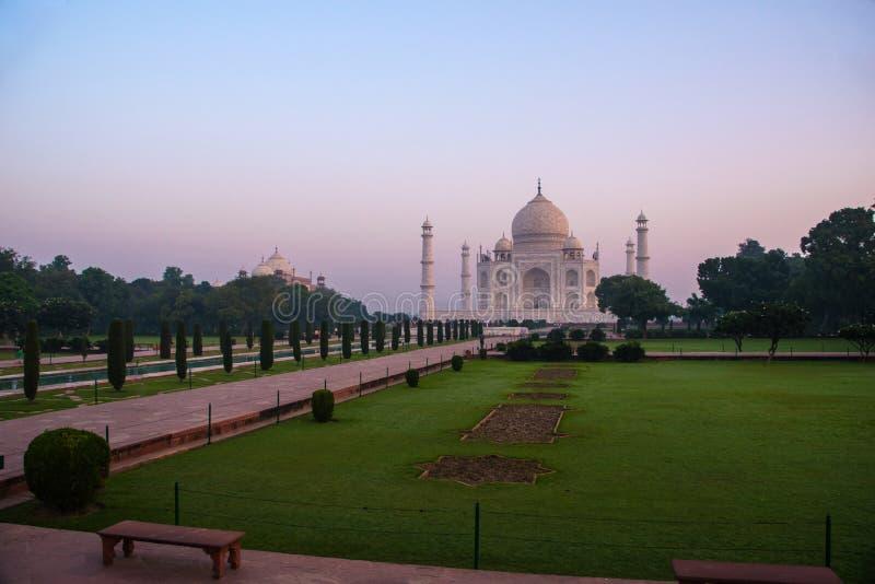 Taj Mahal-Komplex Agra stockbilder
