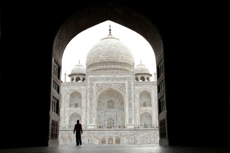 Taj Mahal, la India foto de archivo libre de regalías