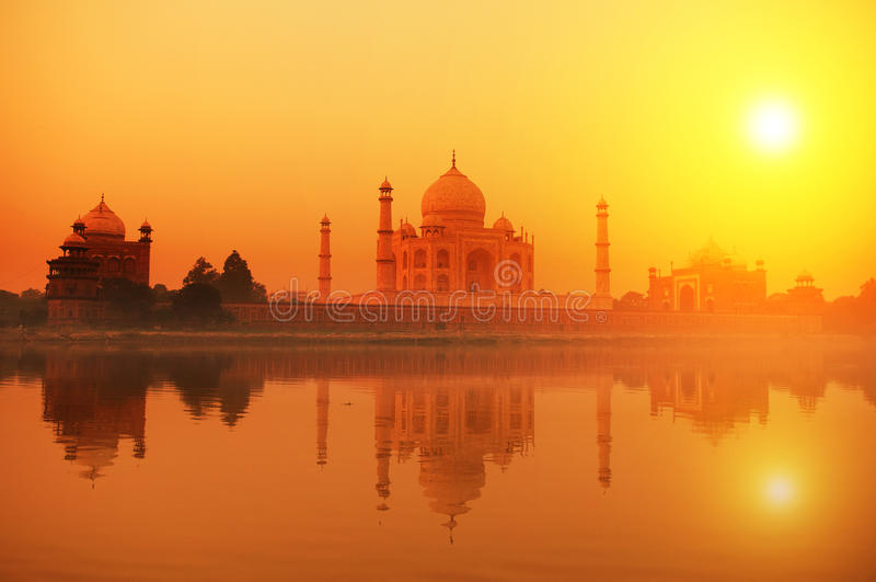 Taj Mahal la India fotos de archivo